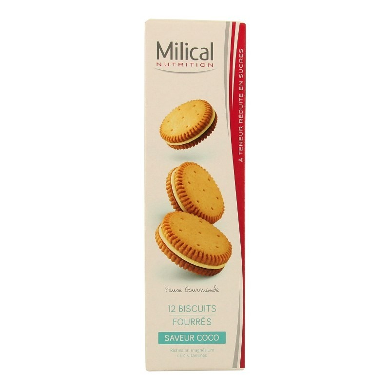 Milical nutrition saveur coco 12 biscuits   Pharmacie Ulis 2